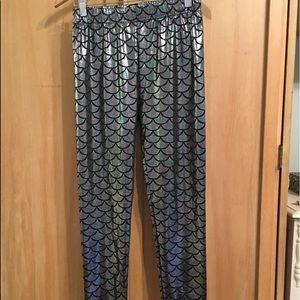 Pants - Women's mermaid leggings
